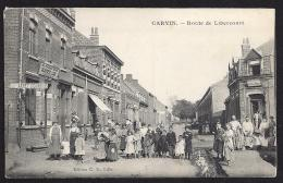CPA 62 Carvin Route De Libercourt - Autres Communes