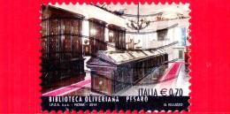 ITALIA - Usato - 2014 - Eccellenze Del Sapere - Biblioteca Oliveriana In Pesaro - 0.70