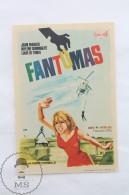 Old Cinema/ Movie Advtg Image - Movie: Fantômas,  Actors: Jean Marais, Louis De Funès, Mylène Demongeot - Publicité Cinématographique