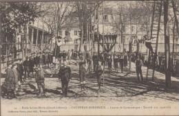 33-CAUDERAN-BORDEAUX-Ecole Ste-Marie-Gd Lebrun-Leçons De Gymnastique-Travail Des Appareils 1910  Animé - Bordeaux
