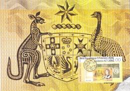 Australia 2016 Decimal Currency 50 Years Maximum Card - Cartes-Maximum (CM)