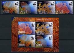 2012 - NIUE - Mi. Nr. 1198/1201 + BL 168 -  NH - ( **) - (K-EA-361368.11) - Niue