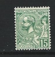 "Monaco YT 44 "" Prince Albert 1er  15c. Vert "" 1920-21 Neuf ** - Monaco"