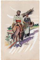 CORSE -  Illustrateur Domi Albertini -  Paysans Corses - Illustrateurs & Photographes