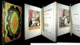 FAUSSES PERLES & PLOMB De CHASSE Gravure Engraving Lithographie SORRIEU Enfantina CHAVANNE De La GIRAUDIERE EO 1852 Rare - Livres, BD, Revues