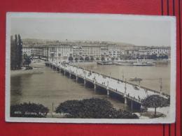 Geneve / Genf (GE) - Pont Du Mont Blanc - GE Ginevra
