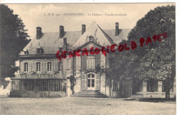 62 - HARDINGHEN - LE CHATEAU   FACADE PRINCIPALE - Francia