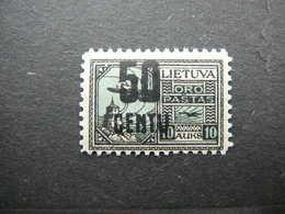 Lietuva Litauen Lituanie Litouwen Lithuania # 1922 MH # Mi. 185 - Lituanie