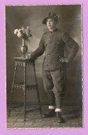 Foto-cartolina Militare - Alpino- MIL22 - War, Military