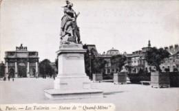 France Paris Les Tuileries Statue De Quand-Meme - France