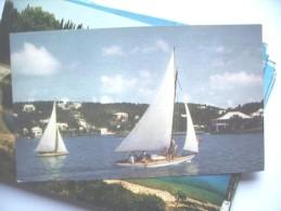 Bermuda Hamilton Harbour With Sailing Boats - Bermuda