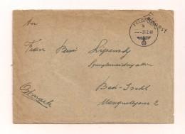Feldpostbrief Mit Inhalt 23.2.1940 Von FP-Nr. L 30906 Nach Bad Ischl - Ostmark - Covers & Documents