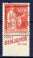#(85). France. Advertising. BENJAMIN. Yvert 283. Type I. Braun 715,4. Used. - Advertising