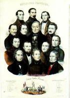 Histoire   H55       Révolution. ( Membres Du Gouvernement Provisoire ) - Historia