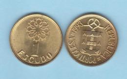 PORTUGAL  (República)  1 Escudo 1.993  Niquel Latón KM#631  SC/UNC    T-DL-11.816 - Portugal