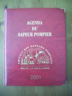 SAPEURS POMPIERS / AGENDA / CORREZE / BRIVE LA GAILLARDE / 2001 - Organizations