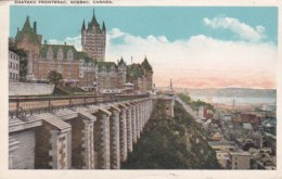 Canada Quebec Chateau Frontenac 1928 - Québec - Château Frontenac