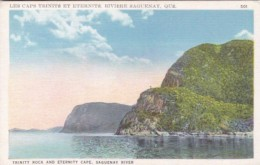 Canada Les Caps Trinite Et Eternite Riviere Saguenay Quebec - Québec - Les Rivières