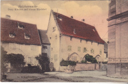 68 Reichenweier (Riquewihr ) DreyKirchen Auf Einem Kirchof, édit Félix Luib.Tb état  Datée 1909. - Riquewihr