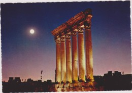 BAALBECK,BAALBACK,BAALBEC ,syrie,liban,pleine Lune,monument