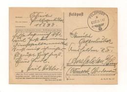 """Feldpost-Karte Samt Inhalt 29.1.1942 Von FP-Nr. 11388 Nach Ansfelden Ostmark Oberdonau - Mit Spruch """"Was Die Front Opfer - Covers & Documents"""