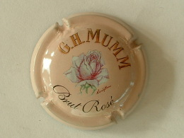 CAPSULE DE CHAMPAGNE  - G.H MUMM BRUT ROSE - Champagne