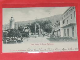 MARTINIQUE  /  SAINT PIERRE   1902    PLACE BERTIN  ST PIERRE    CIRC NON - Martinique