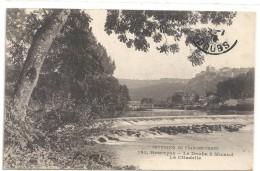 Excursion En Franche-Comte .181. BESANCON - LE DOUBS A MICAUD - LA CITADELLE - ECRITE AU VERSO LE 14 JUILLET 1916 - Besancon
