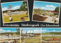 R1117 Oer Erkenschwick - Freizeitstatte Stimbergspark / Viaggiata 1972 - Germania