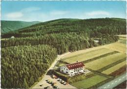R1118 Waldmichelbach Wald Michelbach - Café Pension Maienhof Beim Tierpark - Siedelsbrunn / Viaggiata 1969 - Germania