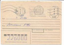 Metered Cover Freistempel - 26 June 1992 To Riga, Latvia - Bielorrusia