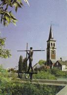 Grote Kaart St. Sint Amands Aan De Schelde - Gezicht Op De Heilige Amandus Kerk - Sint-Amands
