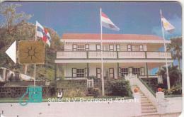 "SABA - The Lt. Governor""s House, Satel Telecard 400 Units, Used - Antilles (Netherlands)"