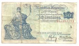 Argentina 50 Centavos 1926 - Argentine