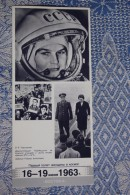 VALENTINA TERESHKOVA. FIRST WOMAN ASTRONAUT . OLD  USSR PC - 1980s - Space - Raumfahrt