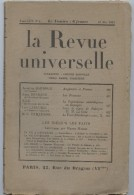 La Revue Universelle, Royaliste,action Française, Massis, Bardoux,Bonnard,Larguier, Pailleron, Brasillach - Livres, BD, Revues