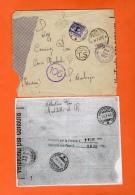 Storia Postale Busta 16/7/1944  X Sant'Ambrogio TO Tassata In Arrivo CON SEGNATSSE DA 50 CENT Fascetto RSI - 4. 1944-45 Repubblica Sociale