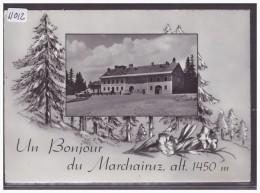 FORMAT 10x15 Cm - DISTRICT DE LA VALLEE - RESTAURANT DU MARCHAIRUZ - TB - VD Vaud