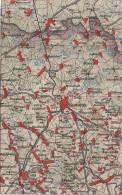Wona Karte Blatt 774 Kamenz Bernsdorf Wiednitz Grüngräbchen Ossling Pulsnitz Burkau Elstra Panschwitz Bischheim Gersdorf - Gersdorf