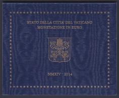 """2014 VATICANO """"DIVISIONALE 8 MONETE"""" FDC BU - Vaticano"""