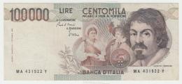 Italy 100,000 Lire 1983 VF+ Pick 110a 110 A - [ 2] 1946-… : Républic