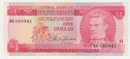 BARBADOS 1 DOLLAR 1973 UNC NEUF Pick 29 - Barbados