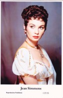 JEAN SIMMONS - Film Star Pin Up - Publisher Swiftsure Postcards 2000 - Artistes
