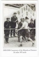 London: The 1908 OLYMPIC MARATHON - Dorando Pietri Taking The Lead - Stadium Entrance - Giochi Olimpici