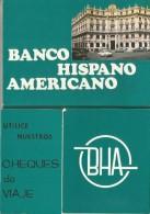 BANCO HISPANICO AMERICANO 9 CARTOLINE + FOLDER - Cartoline