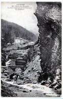 Chateau-Ville-Vieille (Hautes-Alpes) Fort Queyras Et Le Torrent - France