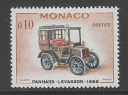 TIMBRE NEUF DE MONACO - AUTOMOBILE ANCIENNE : PANHARD-LEVASSOR 1889 N° Y&T 562 - Voitures