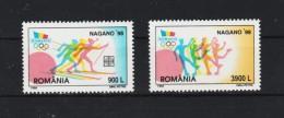 1998 - J.O. NAGANO  MI No 5294/5295 Et Yv 4429/4430 - 1948-.... Repubbliche