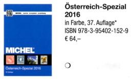 Spezial Katalog 2016 MICHEL Briefmarken Österreich Neu 64€ Bosnien Lombardei Venetien Special Catalogue Stamp Of Austria - Documentos Antiguos