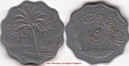 IRAQ 5 Fils 1975 KM#125a - Used - Iraq